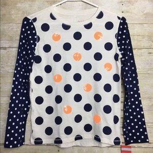 Cat & Jack Girls Polka dots sequins 10/12